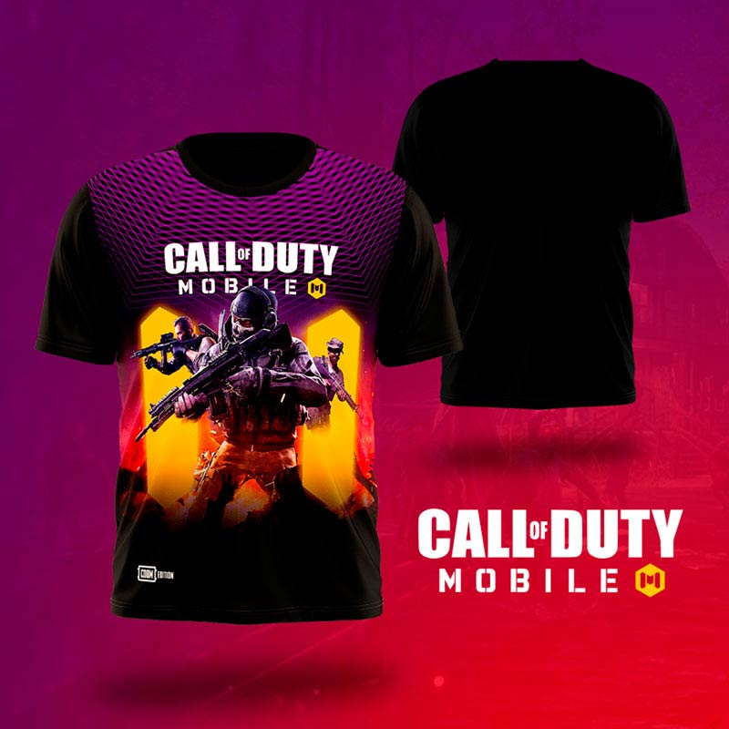 Call of Duty Mobile T Shirts printing